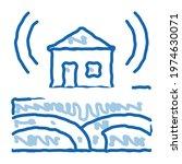 seismic wave residential...   Shutterstock .eps vector #1974630071