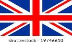 national flag of united kingdom | Shutterstock . vector #19746610