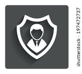 security agency sign icon....