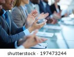 young business partners... | Shutterstock . vector #197473244