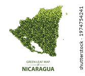 nicaragua map made up of green...   Shutterstock .eps vector #1974754241
