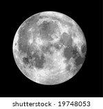 vector moon illustration | Shutterstock .eps vector #19748053