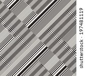 abstract ornate striped... | Shutterstock .eps vector #197481119