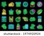 money laundering icons set.... | Shutterstock .eps vector #1974920924