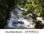 Jamaica. Dunn's River Falls.