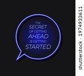 vector lettering  quote neon...   Shutterstock .eps vector #1974933611