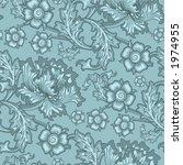 seamless floral wallpaper... | Shutterstock . vector #1974955