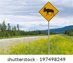 Yellow Diamond Traffic Road...