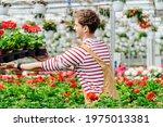 Side View Of Handsome Gardener...