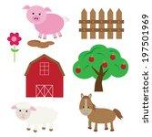 farm | Shutterstock .eps vector #197501969