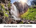 Butakovka Waterfall In The...