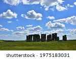 Closer View At Stonehenge At...