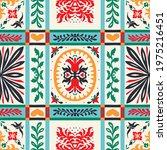 italian majolica tile....   Shutterstock .eps vector #1975216451