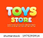 vector playful logo toys store... | Shutterstock .eps vector #1975293914