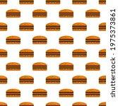 hamburger  cheeseburger  burger ... | Shutterstock .eps vector #1975373861
