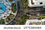 Tel Aviv City Square  Drone...