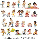 adolescent,baby,blonde,boy,brother,brunet,businessman,cartoon,cheerful,childhood,children,cute,dance,family,father