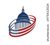 united states capitol building...   Shutterstock .eps vector #1975413524