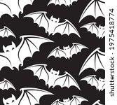 seamless pattern with halloween ...   Shutterstock .eps vector #1975418774