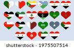 Arab Countries Flags Set ...