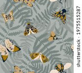 mystical seamless pattern with... | Shutterstock .eps vector #1975515287