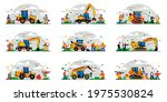 a set of construction equipment ... | Shutterstock .eps vector #1975530824