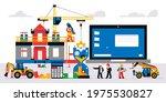 the website is under... | Shutterstock .eps vector #1975530827