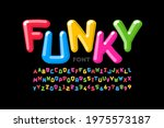 funky playful style font design ... | Shutterstock .eps vector #1975573187