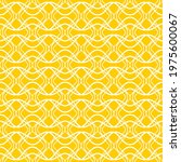 seamless pattern of wavy lines. ... | Shutterstock .eps vector #1975600067