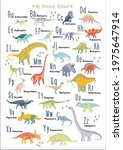 cute dinosaur alphabet. each... | Shutterstock .eps vector #1975647914