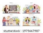 teacher concept set. professor...   Shutterstock .eps vector #1975667987