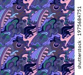 abstract unusual decorative... | Shutterstock .eps vector #1975684751