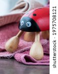 Red Ladybug Hand Massager With...