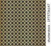 arabic pattern. arab ornament.... | Shutterstock .eps vector #1975736147