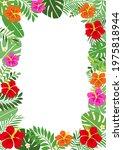 tropical summer background...   Shutterstock .eps vector #1975818944