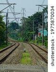 Train Road Tracks Or Railway...