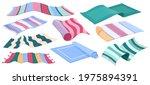 carpet collection  floor rugs... | Shutterstock .eps vector #1975894391