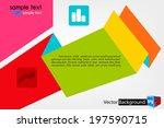 modern design template ... | Shutterstock .eps vector #197590715