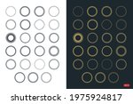 a pack of circle shape element... | Shutterstock .eps vector #1975924817