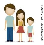 people design over white... | Shutterstock .eps vector #197593541
