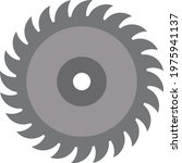circular saw blade icon quality ... | Shutterstock .eps vector #1975941137