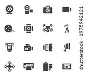 photo and video vector icons...   Shutterstock .eps vector #1975942121