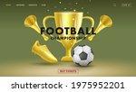 web banner with fottball... | Shutterstock .eps vector #1975952201