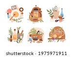 homeopathy and herbal remedies... | Shutterstock .eps vector #1975971911