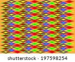 uzbek abstract vector geometric ... | Shutterstock .eps vector #197598254