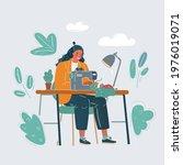 cartoon vector illustration of... | Shutterstock .eps vector #1976019071