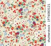 seamless small flower pattern... | Shutterstock .eps vector #1976083121