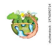 illustration for world... | Shutterstock .eps vector #1976090714