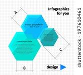 modern layout design  flat... | Shutterstock .eps vector #197610461