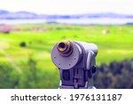 Coin Operated Tourist Telescope ...